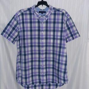 Tommy Hilfiger Custom Fit Plaid Shirt size XXL